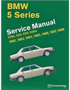 BMW 5 Series (E28) 1982 - 1988 Service Manual