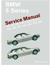 BMW 5 Series (E34) 1989 - 1995 Service Manual