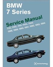 BMW 7 Series (E32) 1988 - 1994 Service Manual