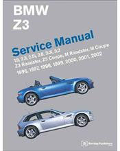 BMW Z3 1996 - 2002 Service Manual