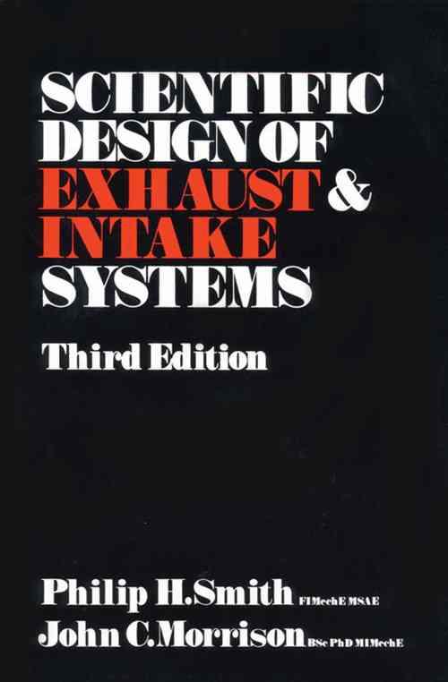 Scientific Design of Exhaust & Intake Systems - Front Cover