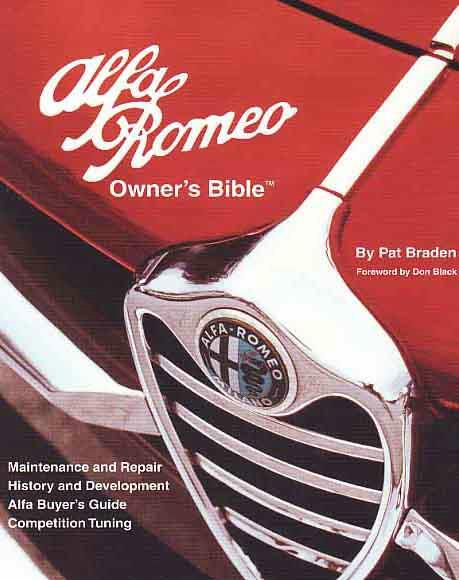 Alfa Romeo Owners Bible 1954 Onwards Service Manual - Front Cover
