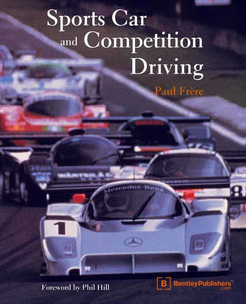 Sports Car and Competition Driving - Front Cover