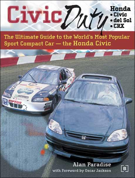 Honda Civic: Civic Duty - Front Cover