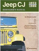 Jeep CJ 1972 - 1986 Rebuilders Manual - Front Cover