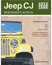 Jeep CJ 1972 - 1986 Rebuilders Manual