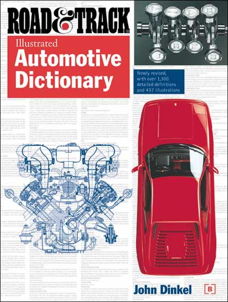 Road & Track Illustrated Automotive Dictionary - Front Cover