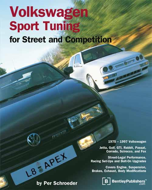 Volkswagen Sport Tuning for Street and Competition - Front Cover
