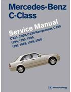 Mercedes Benz C-Class (W202) 1994 - 2000 Service Manual - Front Cover