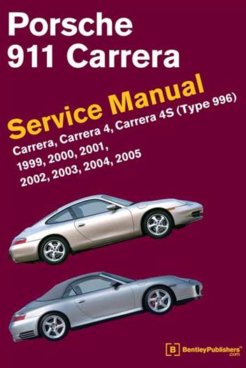 Porsche 911 (Type 996) 1999 - 2005 Service Manual - Front Cover