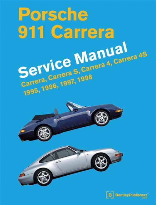 Porsche 911 Carrera (Type 993) 1995 - 1998 Service Manual - Front Cover
