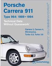Porsche 911 Carrera (Type 964) 1989 - 1994 Technical Data : Without Guesswork