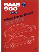 Saab 900 8 Valve 1981 - 1988 Owners Service & Repair Manual - Front Cover