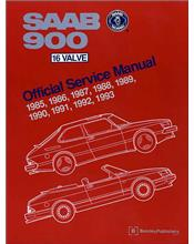 Saab 900 16 Valve 1985 - 1993 Owners Service & Repair Manual