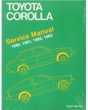 Toyota Corolla 1980 - 1983 Service Manual