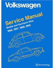 Volkswagen Beetle & Karmann Ghia (Type 1) 1966 - 1969 Service Manual
