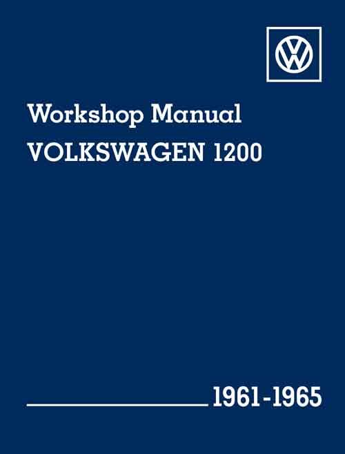 Volkswagen 1200 1961 - 1965 Owners Service & Repair Manual - Front Cover