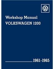 Volkswagen 1200 1961 - 1965 Workshop Manual