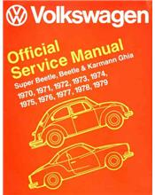 Volkswagen VW Super Beetle, Beetle & Karmann Ghia (Type 1) 1970 - 1979