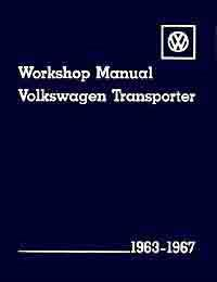 Volkswagen VW Transporter Type 2 1963 - 1967 Owners Service & Repair Manual - Front Cover