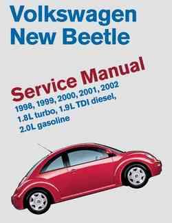 Volkswagen New Beetle 1998 - 2002 Service Manual - Front Cover