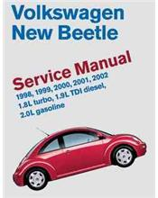 Volkswagen New Beetle 1998 - 2002 Service Manual
