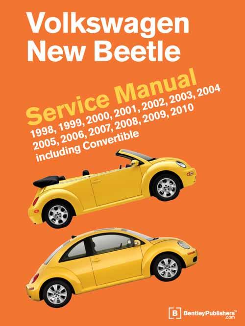 Volkswagen New Beetle 1998 - 2010 Service Manual - Front Cover