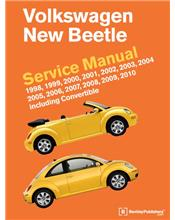 Volkswagen New Beetle 1998 - 2010 Service Manual