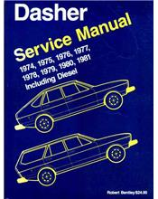 Volkswagen Passat Dasher 1974 - 1981 Owners Service & Repair Manual