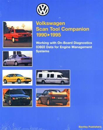 Volkswagen Scan Tool Companion 1990 - 1995 - Front Cover