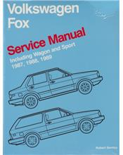 Volkswagen Fox 1987 - 1989 Service Manual