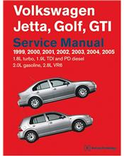 Volkswagen Jetta, Golf & GTI 1999 - 2005 Service Manual
