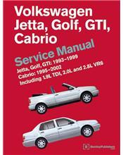 Volkswagen Jetta Golf GTI 1993 - 1999 Cabrio 1995 - 2002 Service Manual