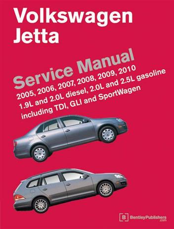 Volkswagen Jetta (A5) 2005 - 2010 Service Manual - Front Cover
