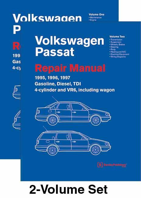 Volkswagen Passat (B4) 1995 - 1997 Repair Manual