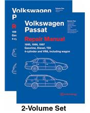 Volkswagen Passat (B4) 1995 - 1997 Repair Manual VW