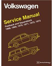 Volkswagen Fastback & Squareback (Type 3) 1968 - 1973 Service Manual