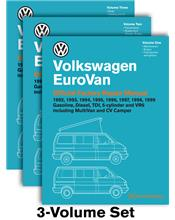Volkswagen EuroVan (Transporter) 1992 - 1999 Repair Manual VW