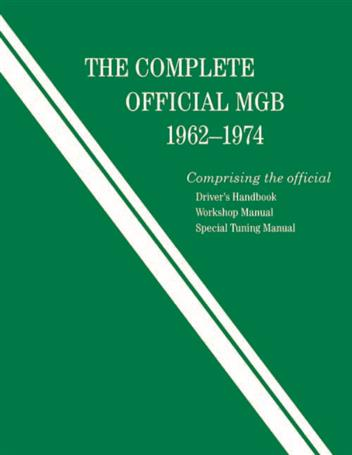 The Complete Official MGB 1962 - 1974 - Front Cover