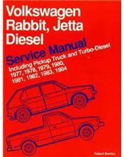 Volkswagen Rabbit Jetta Diesel Service Manual 1977 - 1984 Repair Manual