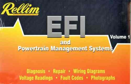 Rellim EFI & Powertrain Management Systems 1997 - 2002: Volume 1 - Front Cover