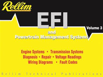 Rellim EFI & Powertrain Management Systems 1992 - 2004 : Volume 3 - Front Cover