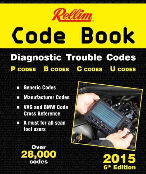 Rellim Code Book : Diagnostic Trouble Codes 2015 - Front Cover