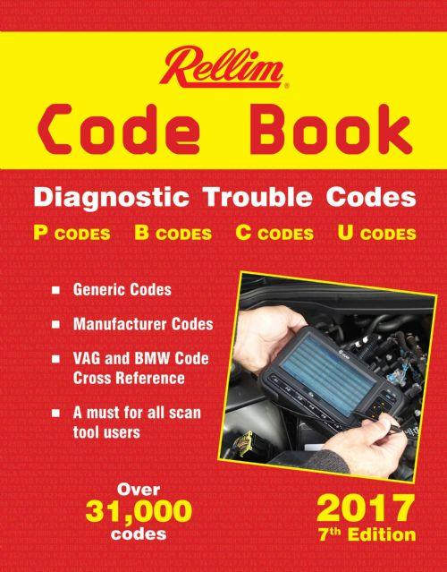 Rellim Code Book: Diagnostic Trouble Codes 2017 - Front Cover