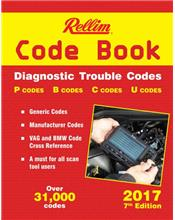 Rellim Code Book: Diagnostic Trouble Codes 2017