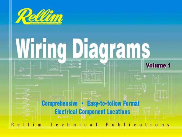 Rellim Wiring Diagrams 1997 - 2002 : Volume 1 - Front Cover