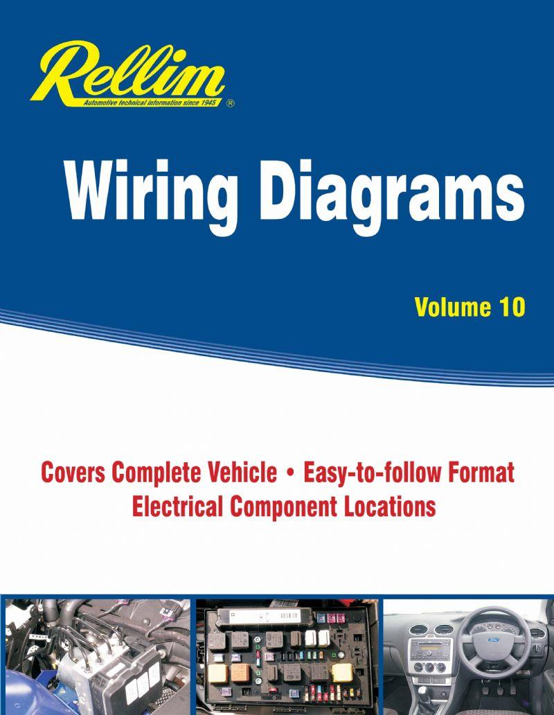 Rellim Wiring Diagrams 2006 - 2015 : Volume 10 - Front Cover