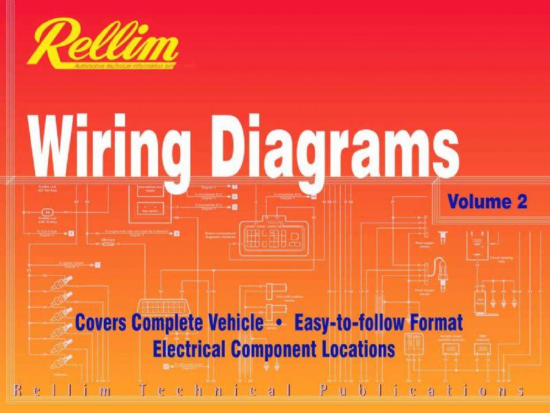 Rellim Wiring Diagrams 1996 - 2003 : Volume 2 - Front Cover