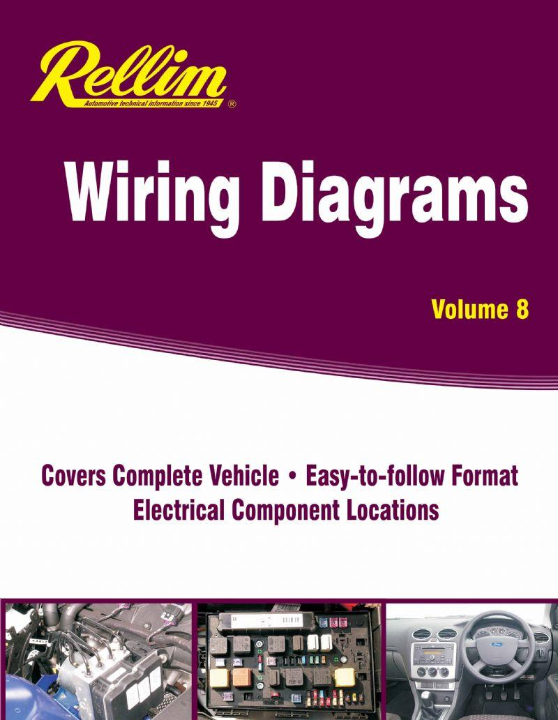 Rellim Wiring Diagrams 1997 - 2011: Volume 8 - Front Cover