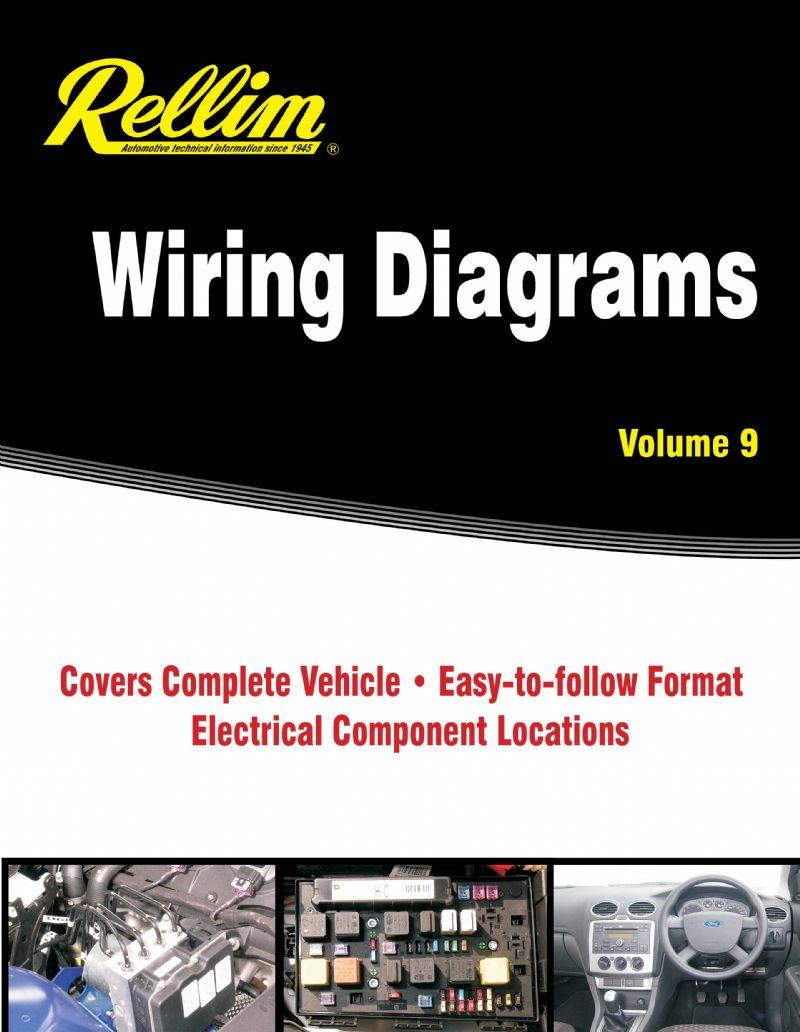 Rellim Wiring Diagrams 2000 - 2012 : Volume 9 - Front Cover